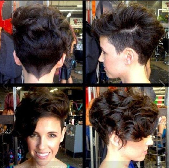 22 Glamorous Curly Pixie Hairstyles For Women – Pretty Designs Throughout Glamorous Pixie Hairstyles (View 11 of 25)