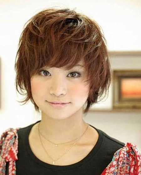 23 Cute Asian Hairstyles For Short Hair   Short Hairstyles With Regard To Messy Pixie Asian Hairstyles (View 11 of 25)
