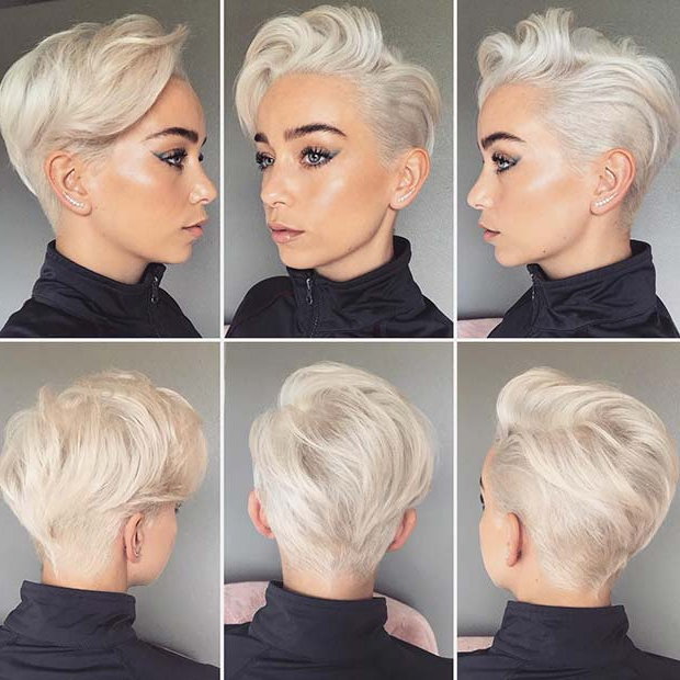 23 Short Haircuts For Women To Copy In 2019 | Stayglam In Glamorous Pixie Hairstyles (View 20 of 25)