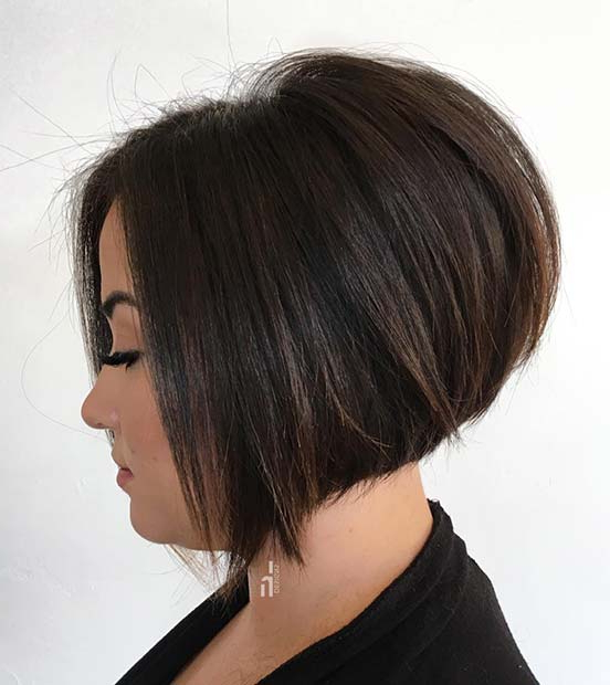 23 Stacked Bob Haircuts That Will Never Go Out Of Style With Simple And Stylish Bob Haircuts (View 7 of 25)