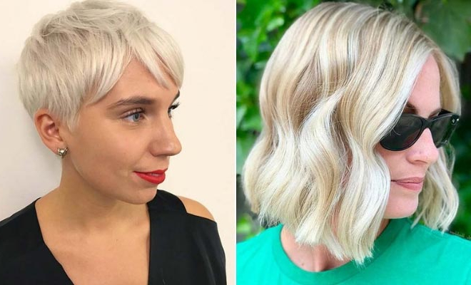 23 Trendy Short Blonde Hair Ideas For 2019 | Page 2 Of 2 With Regard To Glam Blonde Bob Haircuts (View 7 of 25)