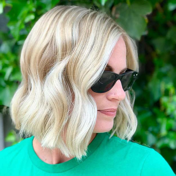 23 Trendy Short Blonde Hair Ideas For 2019 | Stayglam Pertaining To Modern And Stylish Blonde Bob Haircuts (View 10 of 25)