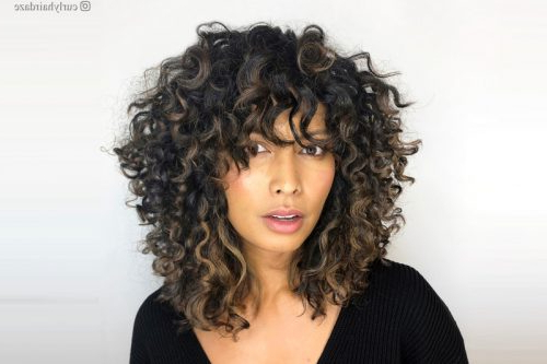 25 Cutest Hairstyles For Short Curly Hair For Pixie Haircuts With Tight Curls (View 22 of 25)