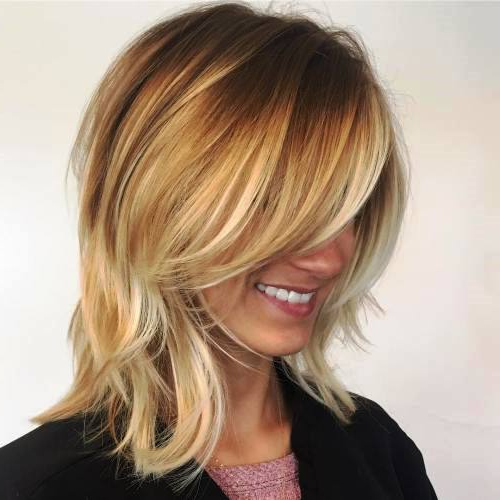 25 Gorgeous Medium Length Hairstyles For Women | Hairs (View 16 of 25)