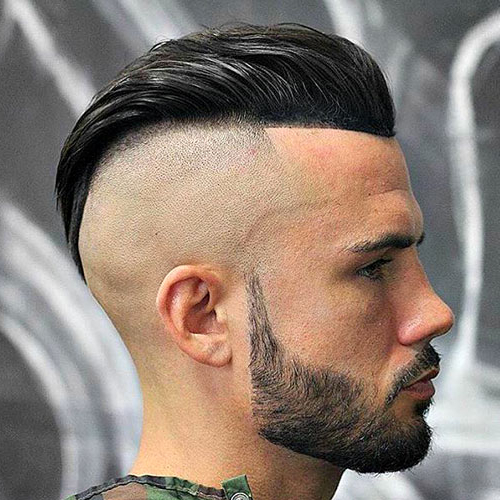 25 Slicked Back Hairstyles 2019 | Men's Haircuts + Within Long Hairstyles With Slicked Back Top (View 17 of 25)
