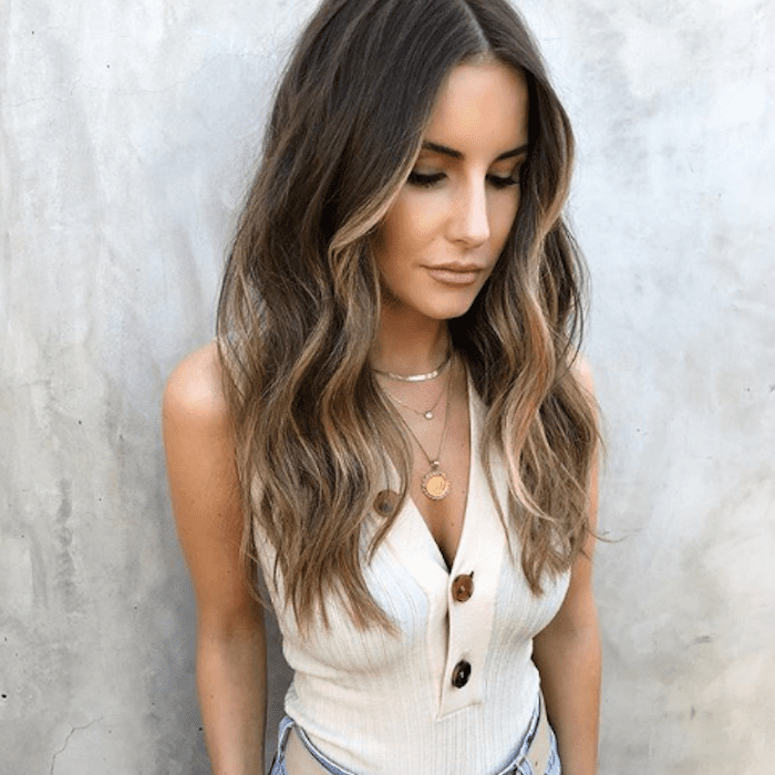 25 Stunning Examples Of Balayage Brown Hair In Black To Light Brown Ombre Waves Hairstyles (View 19 of 25)