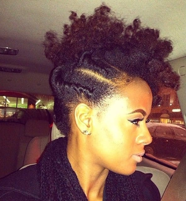 3 Best Braided Mohawk Hairstyles For Natural Hair In 2019 With Twisted And Braided Mohawk Hairstyles (View 22 of 25)
