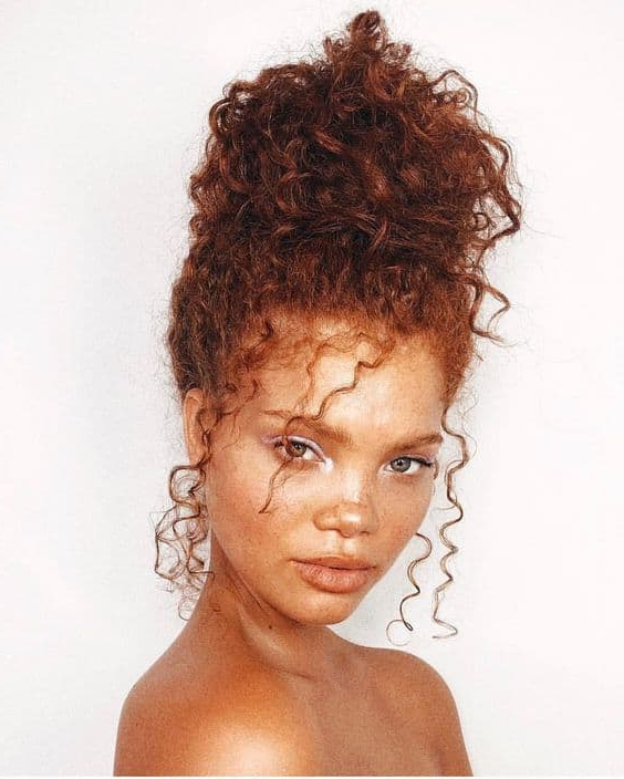 3 Versatile Hairstyles For Long Natural Curly Hair Within Elegant Messy Updo Hairstyles On Curly Hair (View 23 of 25)