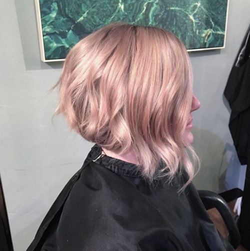 30 A Line Bob Haircuts 2017 | Herinterest/ With Pink Asymmetrical A Line Bob Hairstyles (View 7 of 25)
