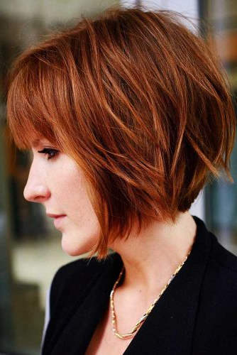 30 Amazing Ways To Style A Bob With Bangs | Lovehairstyles Regarding Hort Bob Haircuts With Bangs (View 9 of 25)