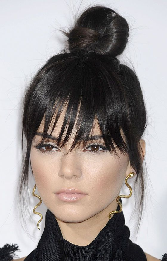 30 Awesome Hairstyles To Hide That Big Forehead | Hairstyles Inside Eye Covering Bangs Asian Hairstyles (View 15 of 25)