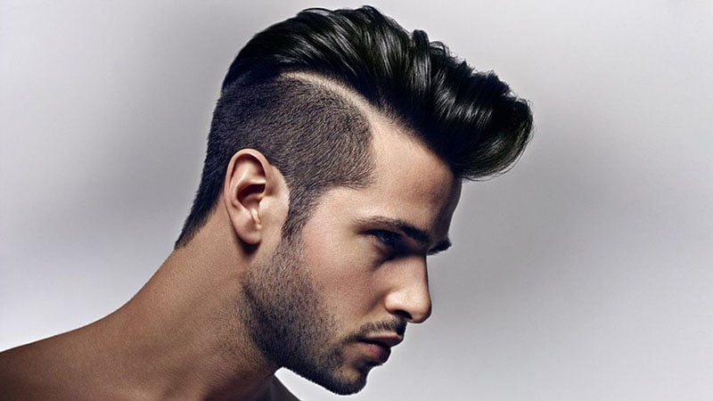 30 Awesome Hard Part Haircuts For Men – The Trend Spotter Inside Sharp And Clean Curly Mohawk Haircuts (View 21 of 25)