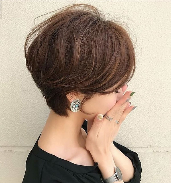 30 Best Asian Short Hair Ideas – Hairstyles And Haircuts Intended For Bold Asian Pixie Haircuts (View 13 of 25)