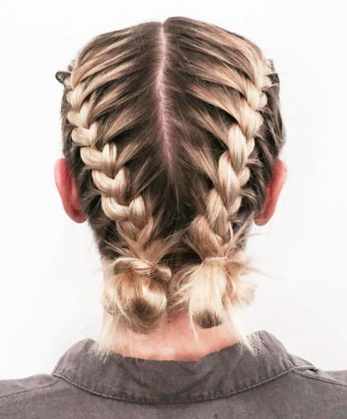 30 Braid Hairstyles For Medium Hair   Herinterest/ Inside Braided Shoulder Length Hairstyles (View 4 of 25)