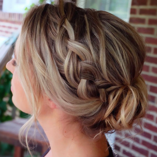 30 Braid Hairstyles For Medium Hair   Herinterest/ With Regard To Braided Shoulder Length Hairstyles (View 14 of 25)