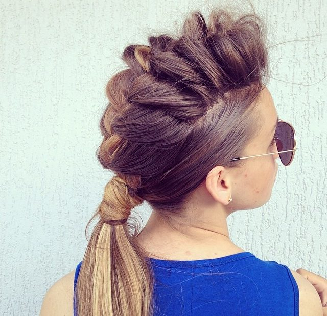 30 Braided Ponytail Hairstyles To Slay In – Reviewtiful Intended For Messy High Ponytail Hairstyles With Teased Top (View 17 of 25)