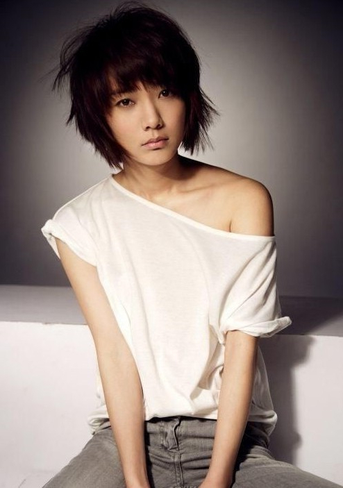 30 Cute Short Haircuts For Asian Girls 2019 | Allkpop Forums Intended For Boyish Shag Asian Hairstyles (View 11 of 25)