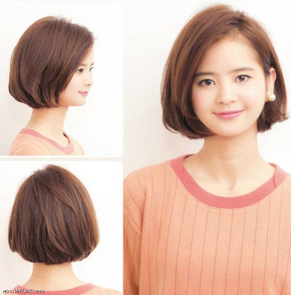 30 Cute Short Haircuts For Asian Girls 2020 – Chic Short Intended For Asymmetrical Bob Asian Hairstyles (View 17 of 25)