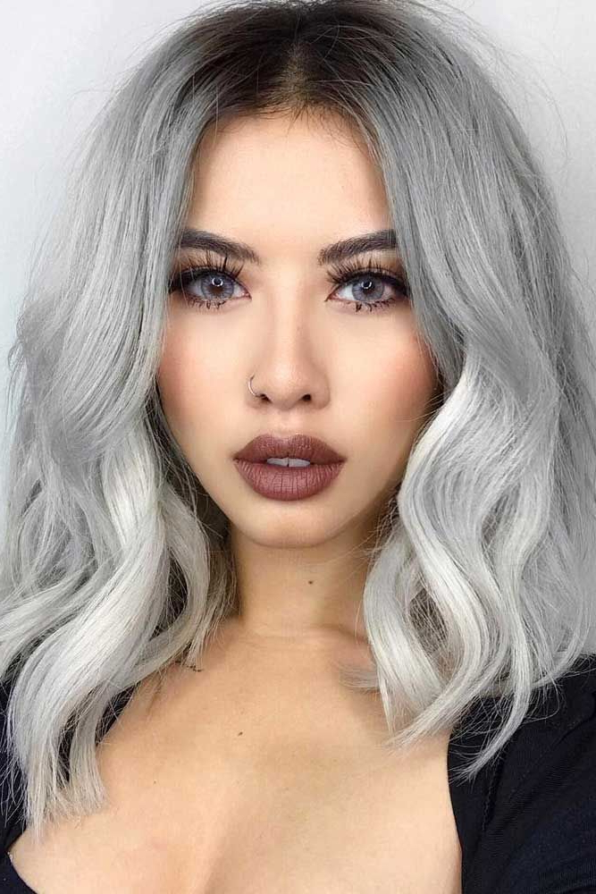 30 Iconic And Contemporary Asian Hairstyles To Try Out Now Pertaining To Cool Silver Asian Hairstyles (View 2 of 25)