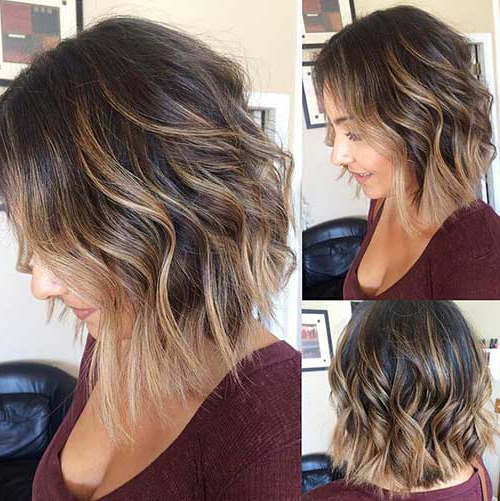 30+ Ideas About Short Brown Hair With Highlights For Highlighted Short Bob Haircuts (View 21 of 25)