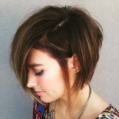 30 Layered Bob Haircuts For Weightless Textured Styles With Regard To Edgy Textured Bob Hairstyles (View 19 of 25)