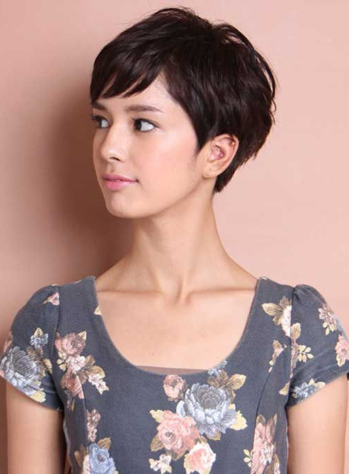 30 Pixie Cut Styles | Cut | Pinterest | Cortes De Pelo Pixie Inside Messy Pixie Asian Hairstyles (View 10 of 25)
