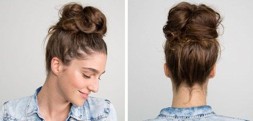 30 Quick And Easy Updos For Long Hair | Frisur Hochgesteckt Pertaining To High Looped Ponytail Hairstyles With Hair Wrap (View 3 of 25)