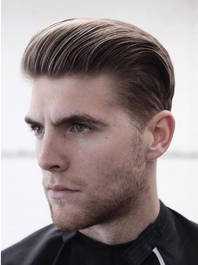 30+ Slicked Back Hairstyles: A Classy Style Made Simple + Guide Within Long Hairstyles With Slicked Back Top (View 22 of 25)