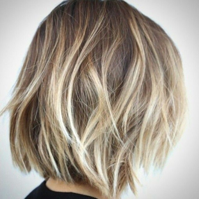 30 Stunning Balayage Hair Color Ideas For Short Hair 2020 Throughout Highlighted Short Bob Haircuts (View 16 of 25)