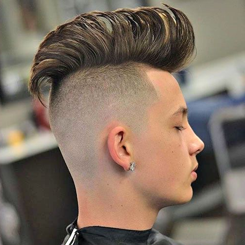 33 Best Hairstyles For Men With Straight Hair (2019 Guide In Long Straight Hair Mohawk Hairstyles (View 2 of 25)