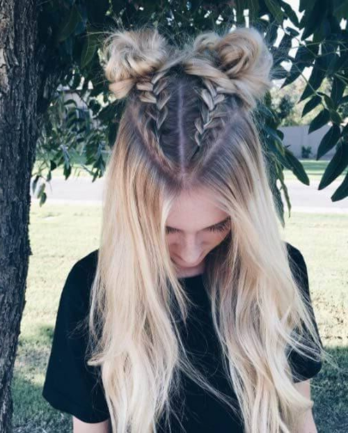 33 Cool Braids Festival Hairstyles | Boxer Braids Hairstyles Regarding Blue Braided Festival Hairstyles (View 10 of 25)