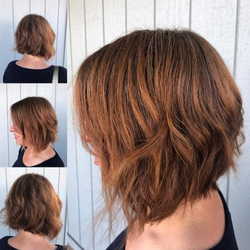 33 Hottest A Line Bob Haircuts You'll Want To Try In 2019 For Pink Asymmetrical A Line Bob Hairstyles (View 12 of 25)