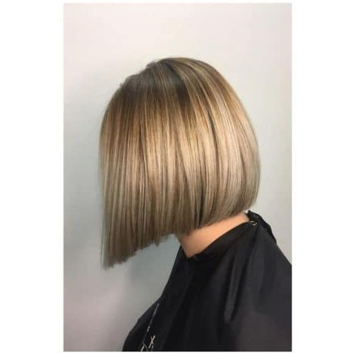 33 Hottest A Line Bob Haircuts You'll Want To Try In 2019 In Pink Asymmetrical A Line Bob Hairstyles (View 23 of 25)