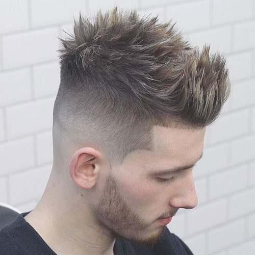 35 Best Faux Hawk (Fohawk) Haircuts For Men (2019 Guide) Throughout Long Curly Mohawk Haircuts With Fauxhawk (View 23 of 25)