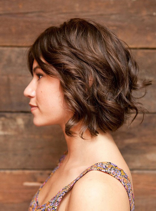 35 Short Wavy Hair 2012 – 2013 Inside Pixie Haircuts With Large Curls (View 5 of 25)