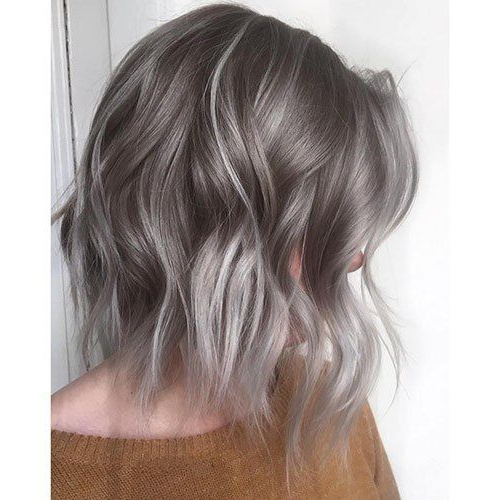 35 Stunning Ash Blonde Hair Color Looks Pertaining To Ash Bronde Ombre Hairstyles (View 15 of 25)