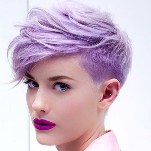 37 Best Short Haircuts For Women (2019 Update) With Bold Pixie Haircuts (View 10 of 25)
