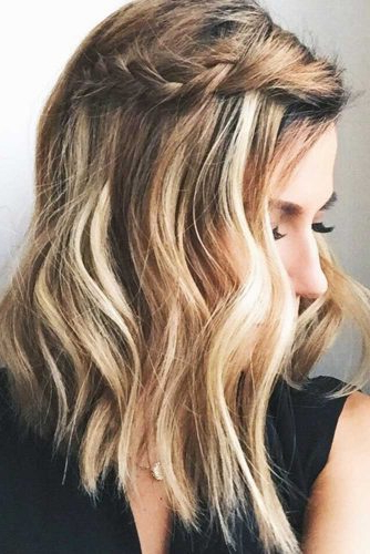 37 Trendy Hairstyles For Medium Length Hair Intended For Braided Shoulder Length Hairstyles (View 24 of 25)