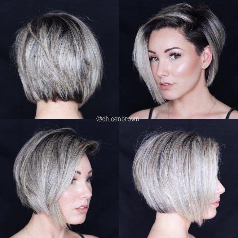 38 Trendy Inverted Short Bob Haircuts – Short Bob Cuts With Regard To Trendy And Sleek Bob Haircuts (View 14 of 25)