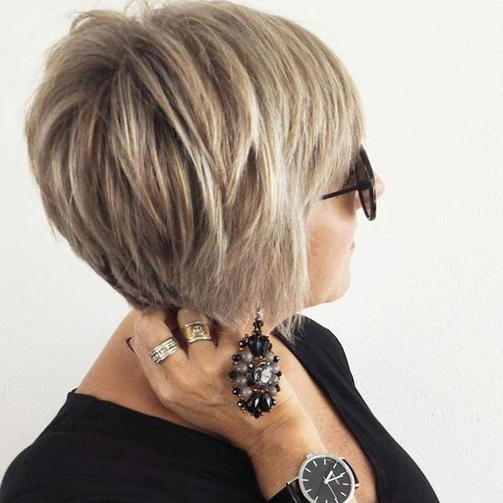 40 Chic And Classy Short Hairstyles For Women Over 50 regarding Chic And Elegant Pixie Haircuts