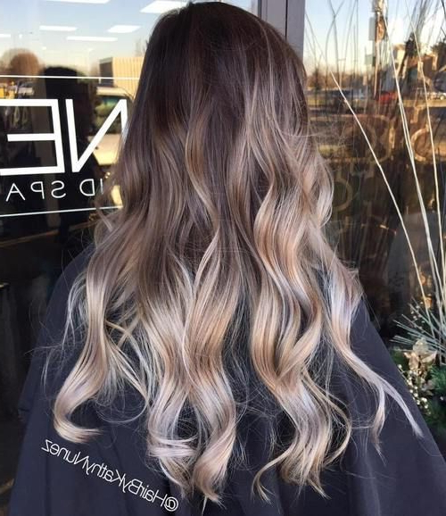 40 Glamorous Ash Blonde And Silver Ombre Hairstyles In Ash Bronde Ombre Hairstyles (View 16 of 25)