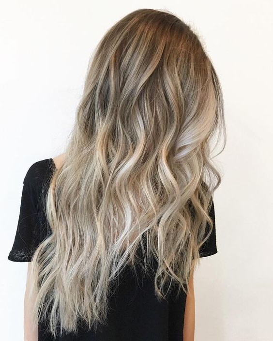 40 Glamorous Ash Blonde And Silver Ombre Hairstyles In Ash Bronde Ombre Hairstyles (View 4 of 25)