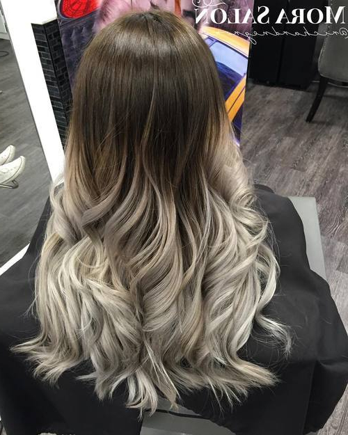 40 Glamorous Ash Blonde And Silver Ombre Hairstyles – Page 6 For Ash Bronde Ombre Hairstyles (View 7 of 25)