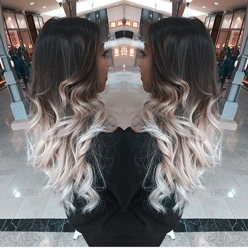 40 Glamorous Ash Blonde And Silver Ombre Hairstyles | White within Ash Bronde Ombre Hairstyles