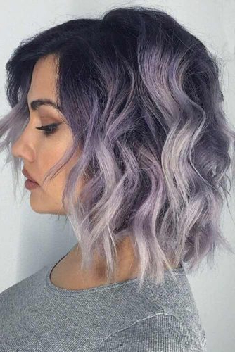40 Hot Balayage Looks For Your Hair Color | Lovehairstyles within Icy Purple Mohawk Hairstyles With Shaved Sides