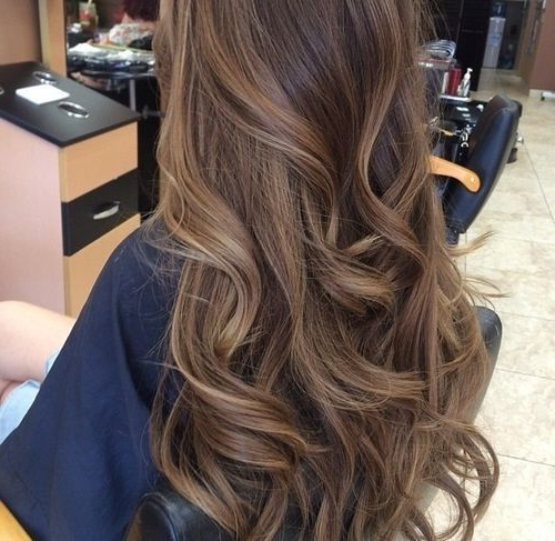 40 Latest Hottest Hair Colour Ideas For Women - Hair Color intended for Long Waves Hairstyles With Subtle Highlights