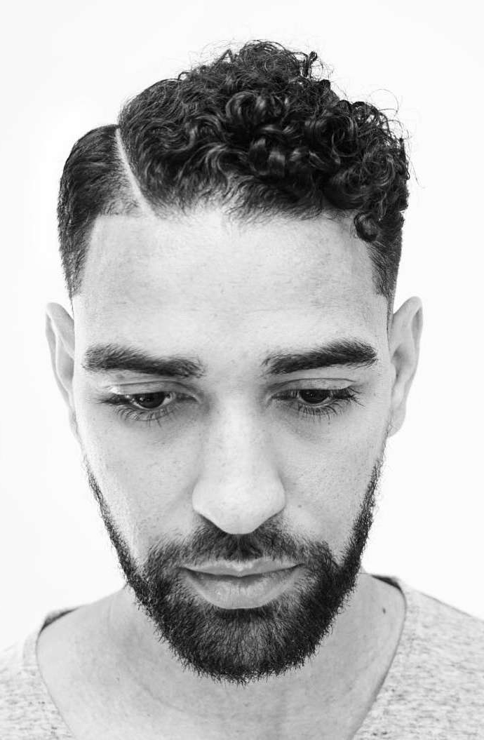 40 Modern Men's Hairstyles For Curly Hair (That Will Change intended for Soft Highlighted Curls Hairstyles With Side Part