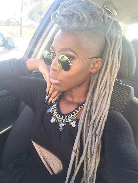 40 Mohawk Hairstyles For Black Women | Mohawk Hairstyles with regard to Dreadlocked Mohawk Hairstyles For Women