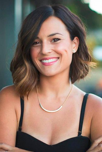40 Sexy Asymmetrical Bob Haircuts | Lovehairstyles Throughout Classic Bob Hairstyles With Side Part (View 15 of 25)