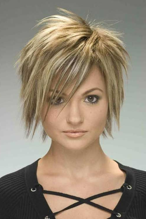 40 Short Trendy Haircuts | Short Punk Hair, Short Choppy intended for Smart Short Bob Hairstyles With Choppy Ends